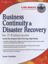 Business Continuity and Disaster Recovery Planning for IT Professionals (eBook)