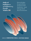 Artificial Intelligence in Engineering Design (eBook): Volume III: Knowledge Acquisition, Commercial Systems, And Integrated Environments