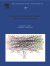 Scientific Data Ranking Methods (eBook): Theory and Applications