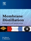 Membrane Distillation (eBook): Principles and Applications