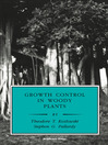 Growth Control in Woody Plants (eBook)
