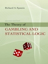 The Theory of Gambling and Statistical Logic (eBook)