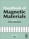 Handbook of Magnetic Materials (eBook)