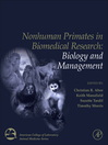 Nonhuman Primates in Biomedical Research,Two Volume Set (eBook)