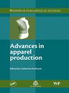 Advances in Apparel Production (eBook)