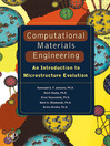 Computational Materials Engineering (eBook): An Introduction to Microstructure Evolution