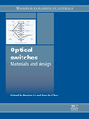 Optical Switches (eBook): Materials and Design