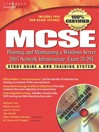 MCSE Planning and Maintaining a Microsoft Windows Server 2003 Network Infrastructure (Exam 70-293) (eBook): Guide & DVD Training System