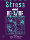 Advances in the Study of Behavior (eBook): Stress and Behavior