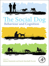 The Social Dog (eBook): Behavior and Cognition