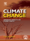Climate Change (eBook): Observed impacts on Planet Earth