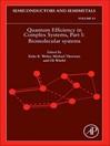 Quantum Efficiency in Complex Systems, Part I (eBook): Biomolecular Systems