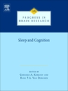 Progress in Brain Research, Volume 185 (eBook): Human Sleep and Cognition, Part I: Basic Research