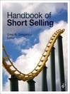 Handbook of Short Selling (eBook)
