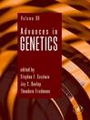 Advances in Genetics (eBook)