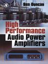 High Performance Audio Power Amplifiers (eBook)