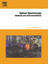 Optical Spectroscopy (eBook): Methods and Instrumentations
