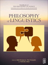 Philosophy of Linguistics (eBook)