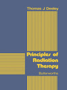 Principles of Radiation Therapy (eBook)