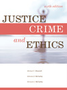 Justice, Crime, and Ethics (eBook)