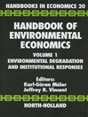 Environmental Degradation and Institutional Responses (eBook)