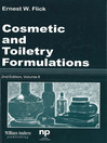 Cosmetic and Toiletry Formulations, Volume 8 (eBook)