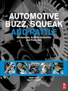 Automotive Buzz, Squeak and Rattle (eBook): Mechanisms, Analysis, Evaluation and Prevention