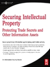 Securing  Intellectual Property (eBook): Protecting Trade Secrets and Other Information Assets