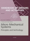Micro Mechanical Systems (eBook): Principles and Technology