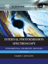 Internal Photoemission Spectroscopy (eBook): Fundamentals and Recent Advances