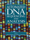 Automated DNA Sequencing and Analysis (eBook)