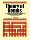 Theory of Beams (eBook): The Application of the Laplace Transformation Method to Engineering Problems