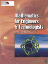 Mathematics for Engineers and Technologists (eBook)