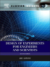 Design of Experiments for Engineers and Scientists (eBook)