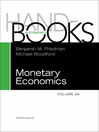 Handbook of Monetary Economics 3A (eBook)