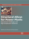 Structural Alloys for Power Plants (eBook): Operational Challenges and High-Temperature Materials
