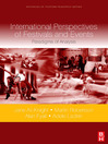 International Perspectives of Festivals and Events (eBook): Paradigms of Analysis