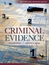 Criminal Evidence (eBook)