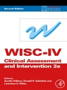 WISC-IV Clinical Assessment and Intervention (eBook)