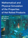 Mathematical and Physical Simulation of the Properties of Hot Rolled Products (eBook)