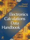 Electronics Calculations Data Handbook (eBook)