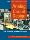 Analog Circuit Design (eBook): Art, Science and Personalities