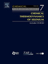 Chemical Thermodynamics of Selenium (eBook)