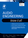 Audio Engineering (eBook): Know It All: Know It All