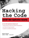 Hacking the Code (eBook): Auditor's Guide to Writing Secure Code for the Web