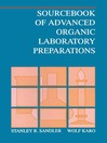 Sourcebook of Advanced Organic Laboratory Preparations (eBook)