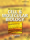 The Dictionary of Cell & Molecular Biology (eBook)