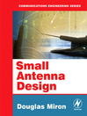 Small Antenna Design (eBook)