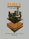 Fuels and Fuel Technology (eBook): A Summarized Manual