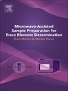 Microwave-Assisted Sample Preparation for Trace Element Determination (eBook)